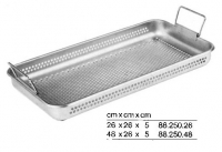 PERFORATED METAL  STERILIZING TRAY